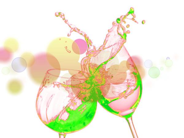 ワインのイラスト